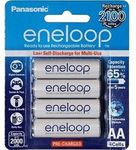 Panasonic Eneloop Batteries - 4x AA $19.96 | Pro 4x AAA $21.56 Delivered @ GraysOnline eBay
