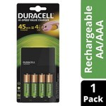 Duracell Rechargeable Batteries and Charger $19 (2x AA and 2x AAA Included) @ Coles