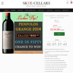 Win a Penfolds Grange (Valued up to $900.00) at Skye Cellars