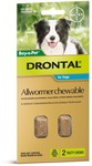 Drontal Allwormer Chewable 20 Pack Only $62.99 (Normally $130) @ Net to Pet