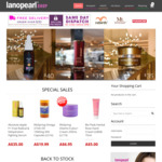 10% off (Min Spend $80) @ Lanopearl Shop