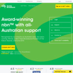 NBN 100/40 Unlim. $79/Month Or 50/20 $59/Mth for First 6 Months ($99 and $79/mth Thereafter) @ Aussie Broadband (Pre-orders)