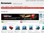 Lenovo Late Night Sale, 10%-40% off ThinkPad Notebooks, 8pm-12am 26/27 May