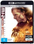 Mission Impossible 2 4k & Blu-Ray $10.76 + Delivery (Free with Prime / $49 Spend) @ Amazon AU