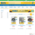 Double Bonus Sale on Betta - Visa Gift Card up to $300 + up to 6 Yr Product Protection on Selected Products