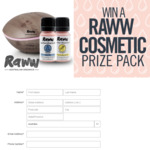 Win a RAWW Cosmetics Aromatherapy Prize Pack Worth $202.93 from Seven Network
