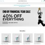 40% off Everything @ MyProtein
