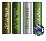 Panasonic Eneloop NiMH Batteries 1900mAh - 2x 4pk AA $26.95 + Delivery ($0 with eBay Plus) @ Shopping Square eBay