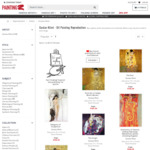3% off Handmade Oil Painting Reproductions of Klimt + Free Shipping - PaintingZ.com
