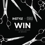 Win 1 of 4 Pairs of OBU Premium Hairdressing Scissors Worth $699 + a 2 Year Subscription to INSTYLE Mag from Instyle/OBU