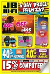 20% off Movies, Samsung Galaxy S10e $799, S10+ 512GB $1299, 20% off GPS, Phones, Canon DSLR and More @ JB Hi-Fi