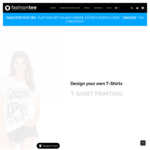 Unisex Regular T-Shirts | Custom T-Shirts $19.95 Printed Shirts on White T-Shirts (Front Print Only)