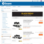 Swann Security 4k 6 Camera 2TB DVR SWDVK-855804B2FB $699.95 (was $1399.95) + Other Deals @ Swann Online Store