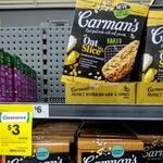 1/2 Price Carman's Oat Slice Lemon Coconut 6-Pack $3.00 @ Woolworths Charlestown (Likely Nationwide)