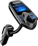 VicTsing Bluetooth FM Transmitter $16.99 (Was $21.99) + Delivery ($0 Prime / $39 Spend) @ VicTsing Amazon AU