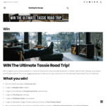 Win a Tassie Road Trip for 2 from Hunting for George