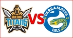 [QLD] Lasttix NRL: Gold Coast Titans V Parramatta Eels - Sat Night 2 for 1 Tix