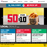1 Large Traditional Pizza + Garlic Bread + 375ml Drink $8 (Pick up) @ Domino's Pizza