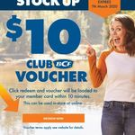 $10 Voucher for Club Members @ BCF