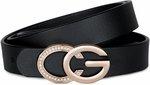 Women Leather Belt - US $13.49 / $20.66 AUD Delivered + Free Face Masks @ JASGOOD (HK)