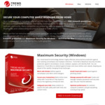 [Windows, Mac] Free 6 Months Trend Micro Maximum Security for Windows PC and Antivirus for Mac @ Trend Micro