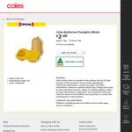 [NSW] Coles Butternut Pumpkin Whole $2.80 2kg ($1.40/kg) or Cut $1.40/kg@ Coles