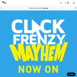 Puma Click Frenzy Mayhem Sale - Save up to 70% off