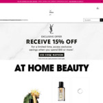 15% off Sitewide + Free Delivery @ YSL Beauty
