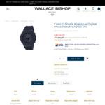 Casio G-Shock GA2100-1A1 Casioak $224.10 Shipped @ Wallace Bishop