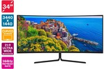 """Kogan 34"""" WQHD Curved 21:9 Ultrawide 144hz Freesync HDR Gaming Monitor (3440x 1440) $639 + Delivery ($0 with First) @ Kogan"""