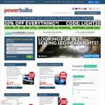 25% off Headlight Bulbs/Globes with 3 Day Shipping @ Power Bulbs