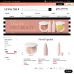 Up to 50% off Selected Fenty Products @ Sephora Instore and Online