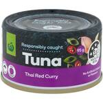 Woolworths Canned Tuna 95g $0.50 (Tom Yum, Massaman Curry or Thai Red Curry Varieties) @ Woolworths
