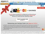 Amazon Save $10 off Purchases of $100 or More on Electronics and Toys with MasterCard