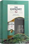 Glenlivet 12YO Single Malt Whisky 700ml & 2 Glass Pack $65 Each or 2 for $120 @ First Choice Liquor