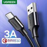 Ugreen USB Type C Cable 0.25m US$0.54(A$0.75), 0.5m US$0.98(A$1.37), 1m US$1.64(A$2.29)@Ugreen Officialflagship Store AliExpress