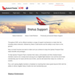 Qantas: Book Any Eligible Flight, Get Frequent Flyer Status Extended by 12 Months @ Qantas.com