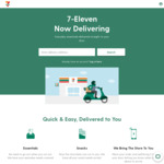 50% off All Items Ordered for Delivery at 7-11 via Tipple