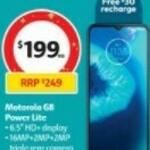 Optus Motorola G8 Power Lite $199 (RRP $249) @ Coles