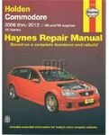 Haynes Owner's Workshop Manual - Holden VE/VF Commodore 2006-2017 $21.11 (Was $49.95) @ Repco
