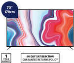 """70"""" 4K Ultra HD Smart TV $799, 6 Way Powerboard with Surge Protection $29.99 @ ALDI"""