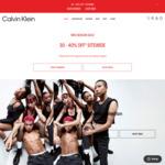 30%-40% off Storewide @ Calvin Klein