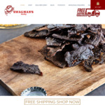20% Off Swagmans Jerky + Free Shipping on All Orders @ Swagman's Jerky & Sauces