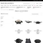 15% off Weber Q BBQ's and Weber Accessories + Delivery ($0 C&C/ $50 Spend) @ David Jones