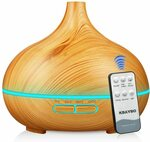 550ml Essential Oil Diffuser $20.99 (Was $34.99) + Delivery ($0 with Prime/ $39 Spend) @ Kbaybo Smart Home-AU via Amazon AU