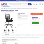 Buro Metro Office Chair (Without Arms, Nylon Base) $279.99 + Free Metro Shipping & First Order Discount @ Winc