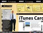 $50 iTunes Card for $35 at Drake Supermarkets (30% off) [QLD and SA]