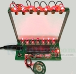 C51 MCU Laser Harp Kit US$9.35, Audio Spectrum Light Kit US$7.30, Battery Overdischarge Protection Board US$5 + US$5 Post @ ICS