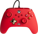 PowerA Xbox Series X Wired Controller - Bold Red - $35.96 Delivered @ Microsoft eBay