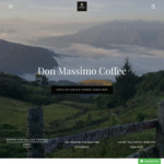 10% off + Free Shipping @ Don Massimo Coffee
